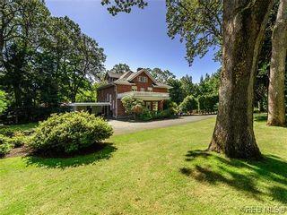 Photo 1: 3125 Uplands Rd in VICTORIA: OB Uplands House for sale (Oak Bay)  : MLS®# 696006