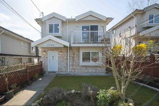 Photo 1: 5980 HARDWICK Street in Burnaby: Central BN 1/2 Duplex for sale (Burnaby North)  : MLS®# R2560343
