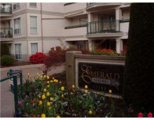 """Main Photo: 108 33280 E BOURQUIN Crescent in Abbotsford: Central Abbotsford Condo for sale in """"EMERALD SPRINGS"""" : MLS®# F2812874"""