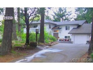 Photo 20: 1920 Barrett Dr in NORTH SAANICH: NS Dean Park House for sale (North Saanich)  : MLS®# 497160