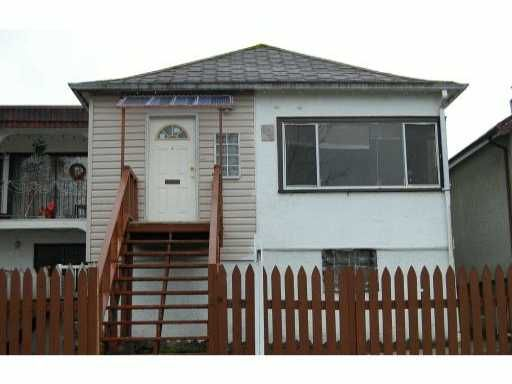 Main Photo: 604 E 29TH Avenue in Vancouver: Fraser VE House for sale (Vancouver East)  : MLS®# V877075