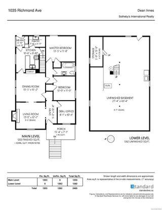Photo 35: 1035 Richmond Ave in : Vi Rockland House for sale (Victoria)  : MLS®# 863868