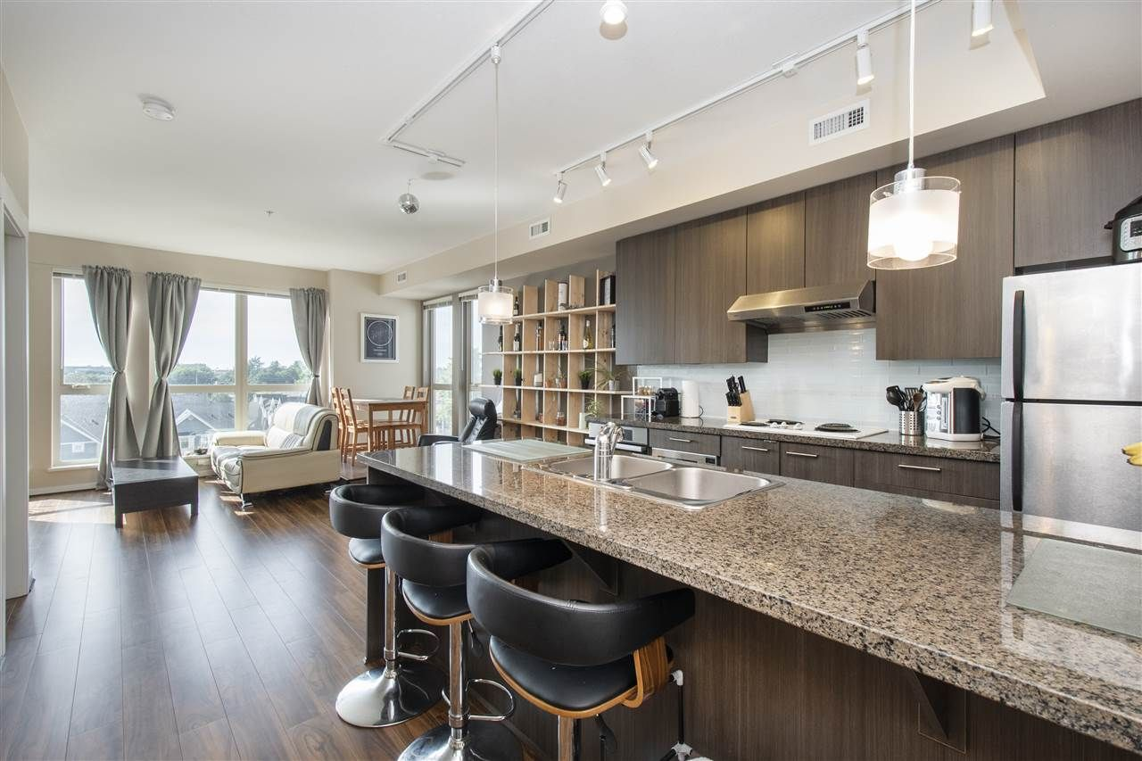 Main Photo: 668 4099 STOLBERG Street in Richmond: West Cambie Condo for sale : MLS®# R2496074