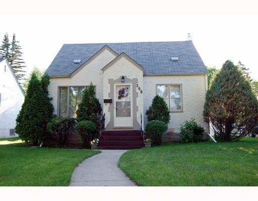 Main Photo: 398 MOORGATE Street in WINNIPEG: St James Residential for sale (West Winnipeg)  : MLS®# 2912558
