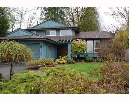 Main Photo: 2700 ANCHOR Place in Coquitlam: Ranch Park House for sale : MLS®# V705691