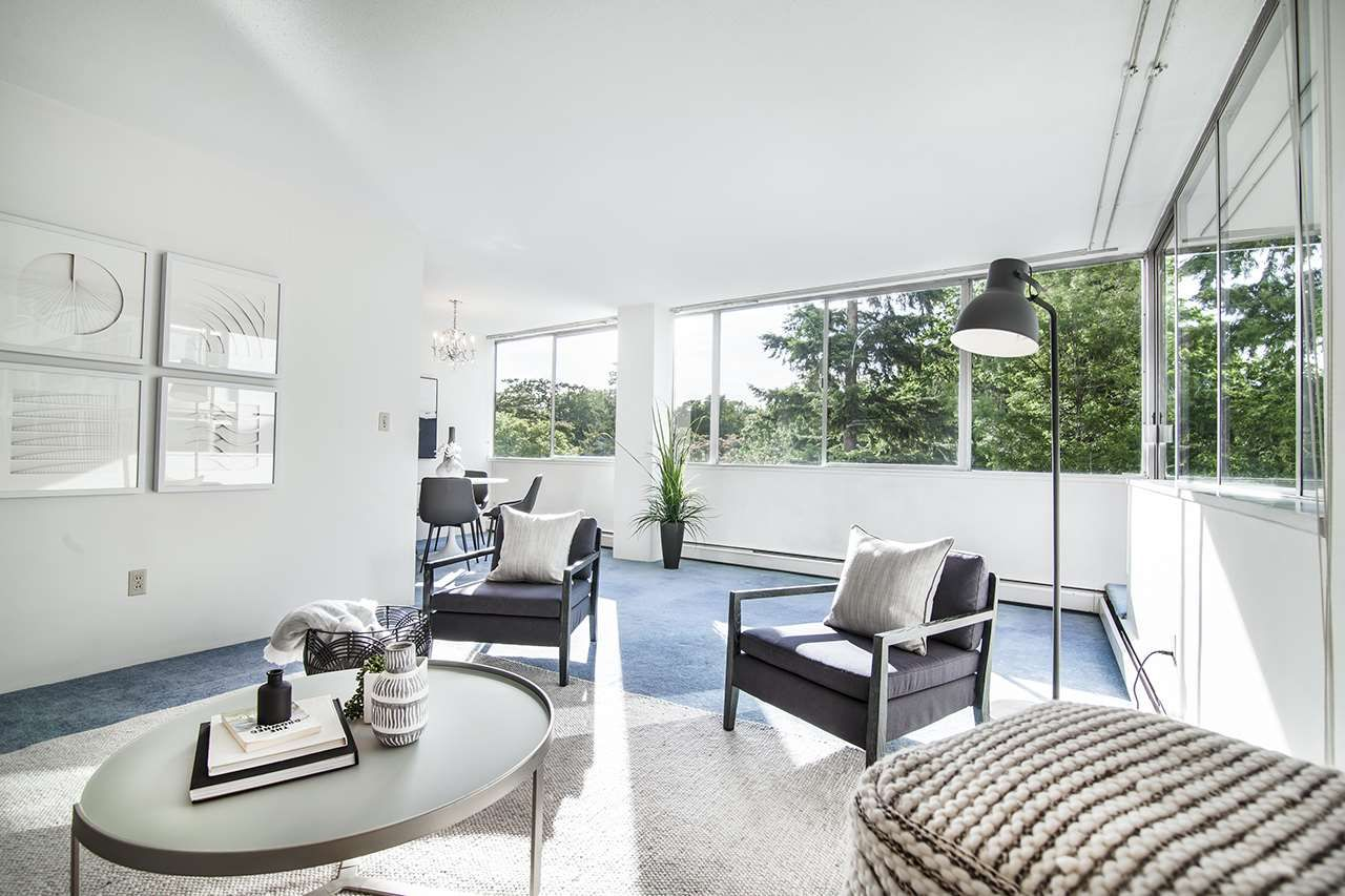 """Main Photo: 405 2055 PENDRELL Street in Vancouver: West End VW Condo for sale in """"PANORAMA PLACE"""" (Vancouver West)  : MLS®# R2460968"""