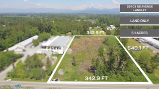 Photo 4: 25403 56 Avenue in Langley: Land for sale : MLS®# R2371302
