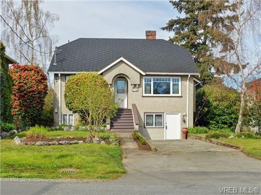 Main Photo: 1572 Rowan St in VICTORIA: SE Cedar Hill House for sale (Saanich East)  : MLS®# 726238