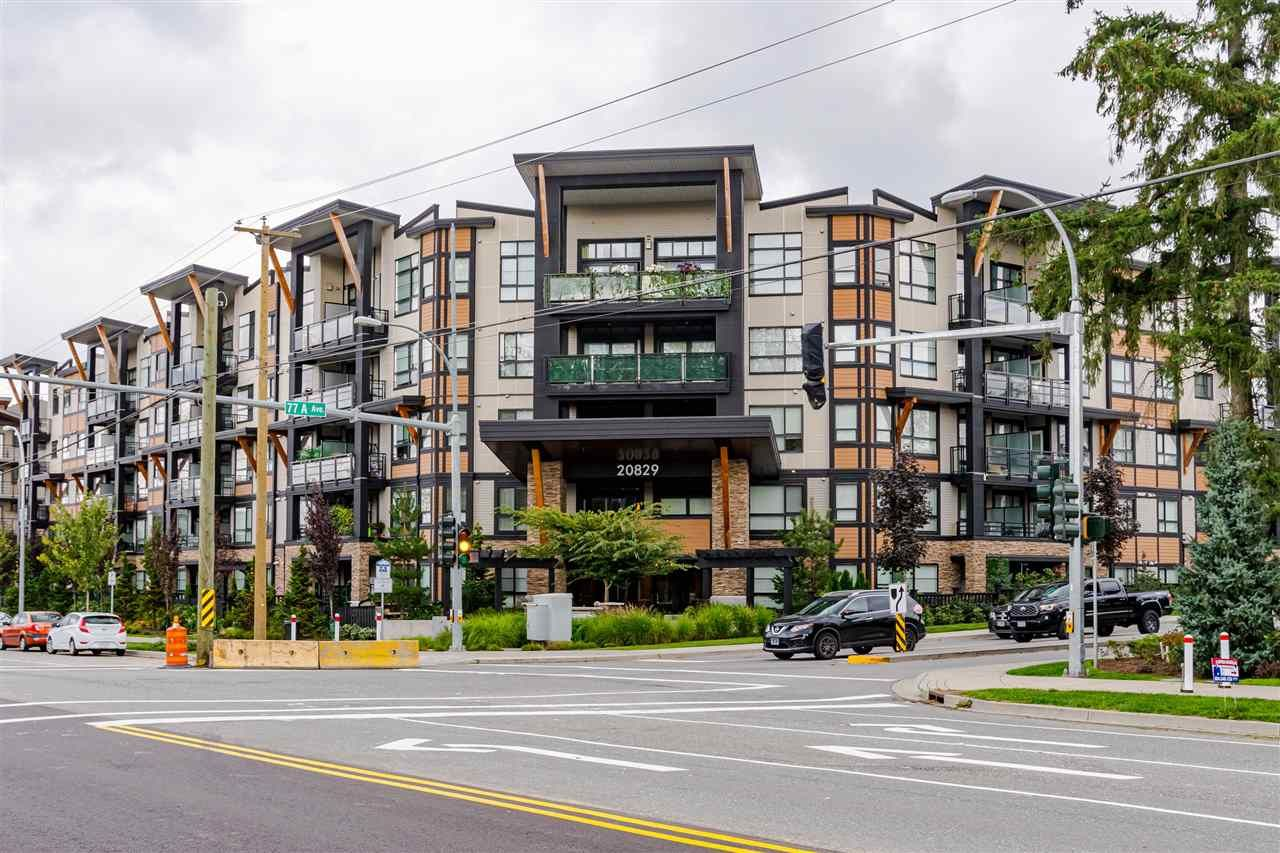 """Photo 1: Photos: 306 20829 77A Avenue in Langley: Willoughby Heights Condo for sale in """"The Wex"""" : MLS®# R2509468"""
