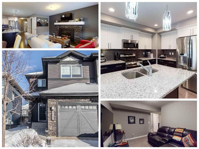 Main Photo: 17518 13 Avenue in Edmonton: Zone 56 House Half Duplex for sale : MLS®# E4227830
