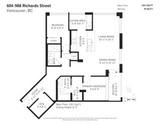 Photo 19: 604 988 RICHARDS STREET in Vancouver: Yaletown Condo for sale (Vancouver West)  : MLS®# R2611073