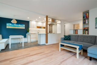"""Photo 1: 202 2355 TRINITY Street in Vancouver: Hastings Condo for sale in """"TRINITY APARTMENTS"""" (Vancouver East)  : MLS®# R2578042"""