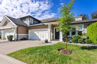 """Photo 1: 17 19452 FRASER Way in Pitt Meadows: South Meadows Townhouse for sale in """"Shoreline"""" : MLS®# R2615256"""