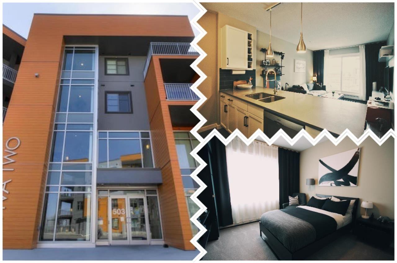 Main Photo: 234 503 Albany Way in Edmonton: Zone 27 Condo for sale : MLS®# E4243163