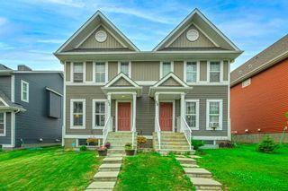 Main Photo: 32 Auburn Meadows Avenue SE in Calgary: Auburn Bay Semi Detached for sale : MLS®# A1135067