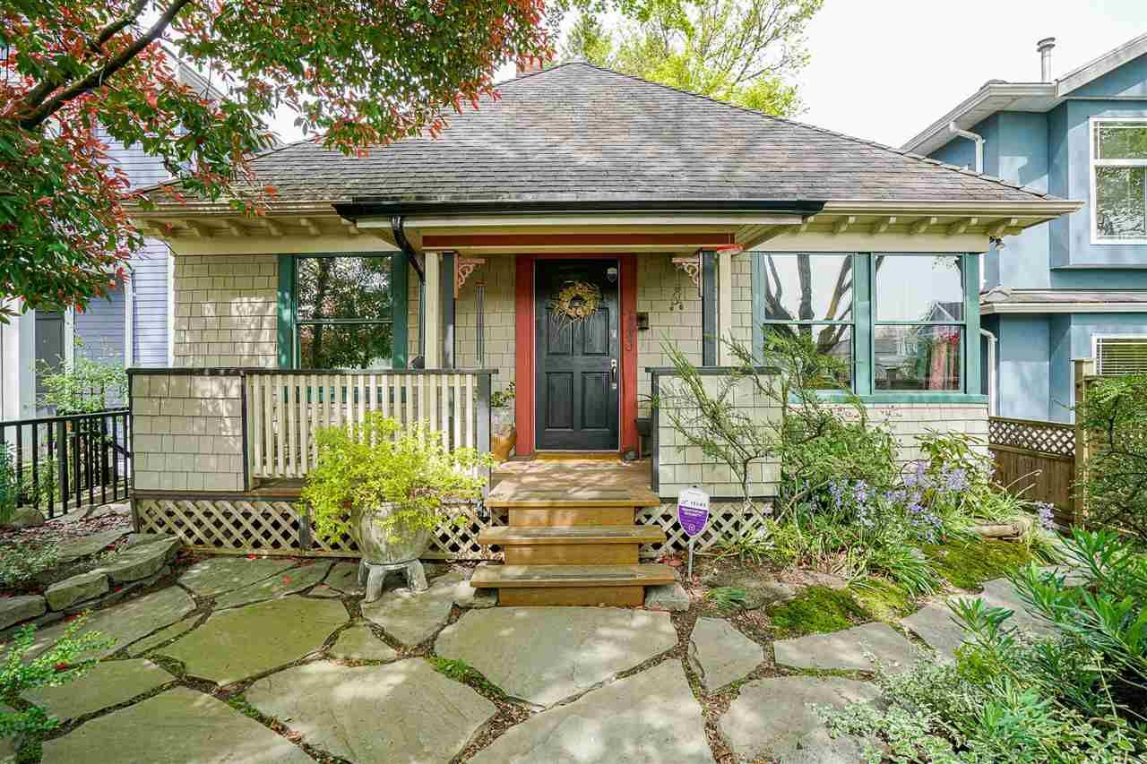 """Main Photo: 1849 E 13TH Avenue in Vancouver: Grandview Woodland House for sale in """"Grandview Woodland"""" (Vancouver East)  : MLS®# R2576278"""