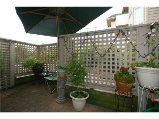 """Photo 9: 111 8700 WESTMINSTER Highway in Richmond: Brighouse Condo for sale in """"CANAAN PLACE"""" : MLS®# V835639"""