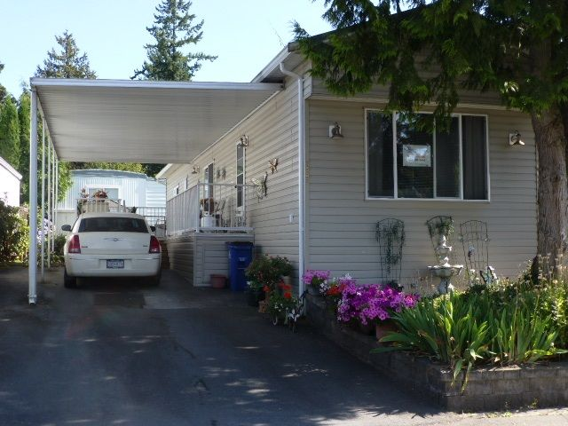 """Main Photo: 187 3665 244 Street in Langley: Otter District Manufactured Home for sale in """"LANGLEY GROVE ESTATES"""" : MLS®# R2197599"""