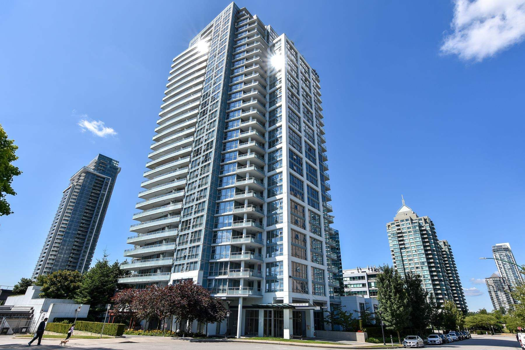 """Main Photo: 2001 4400 BUCHANAN Street in Burnaby: Brentwood Park Condo for sale in """"Motif"""" (Burnaby North)  : MLS®# R2604688"""