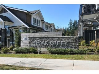 """Photo 18: 144 1460 SOUTHVIEW Street in Coquitlam: Burke Mountain Townhouse for sale in """"CEDAR CREEK"""" : MLS®# V1049640"""