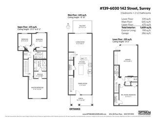 "Photo 33: 139 6030 142 Street in Surrey: Sullivan Station Townhouse for sale in ""Blackberry Walk 3"" : MLS®# R2576717"