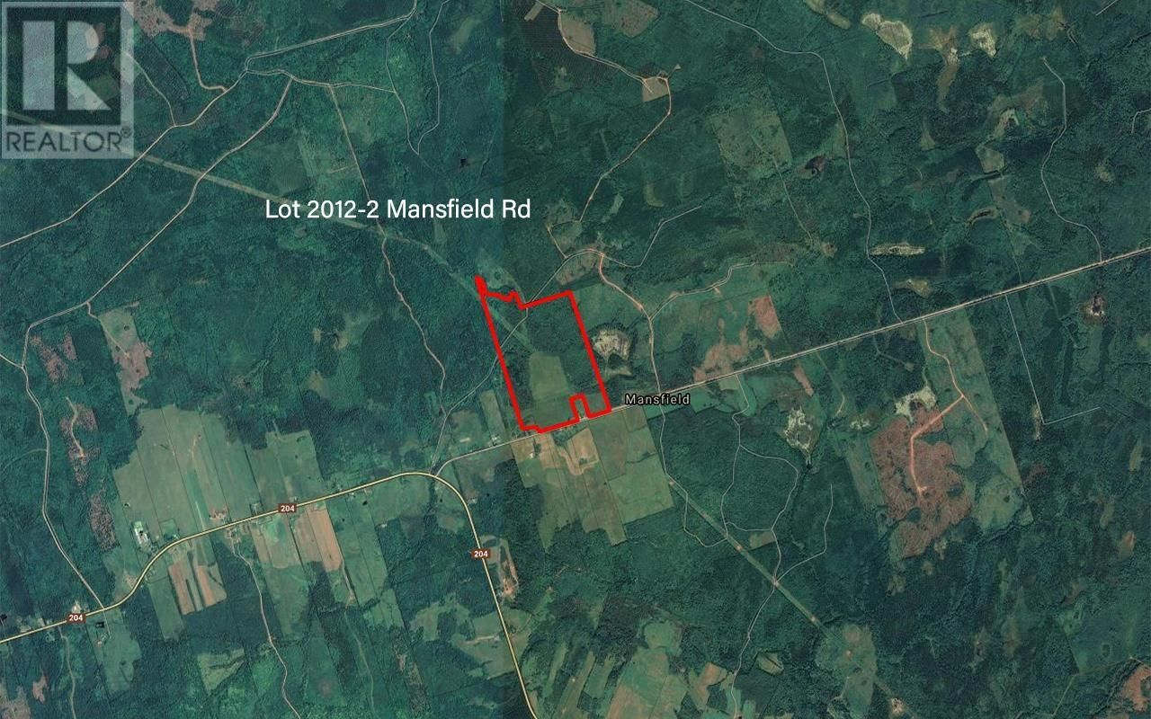 Main Photo: Lot 2012-2 Mansfield Road in Mansfield: Agriculture for sale : MLS®# 202111495