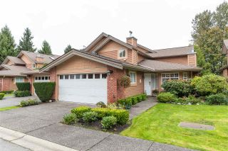 """Photo 1: 12 5201 OAKMOUNT Crescent in Burnaby: Oaklands Townhouse for sale in """"Hartlands on Deerlake"""" (Burnaby South)  : MLS®# R2407575"""