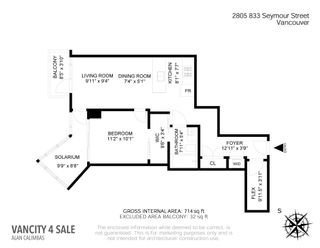 Photo 40: 2805 833 SEYMOUR STREET in Vancouver: Downtown VW Condo for sale (Vancouver West)  : MLS®# R2606534