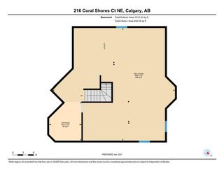 Photo 37: 216 Coral Shores Court NE in Calgary: Coral Springs Detached for sale : MLS®# A1116922