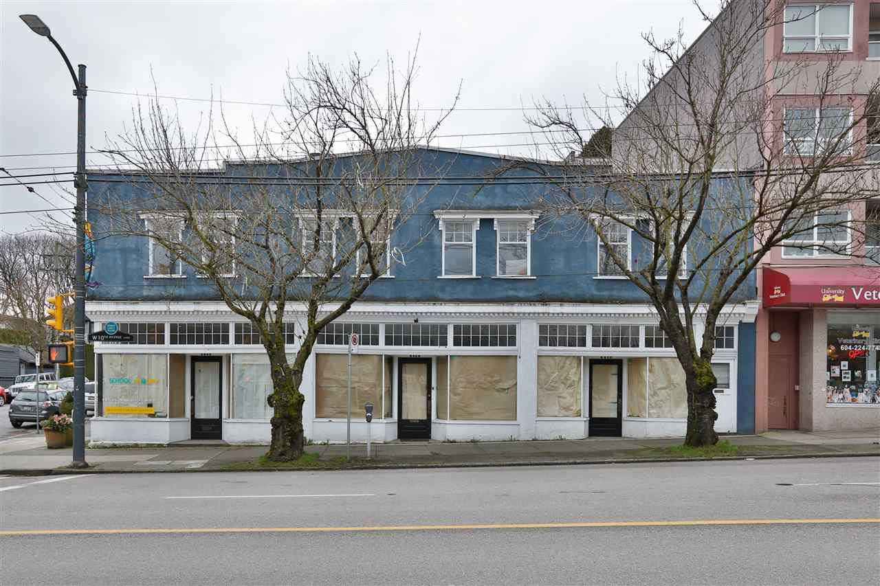 Main Photo: 4406 W 10TH Avenue in Vancouver: Point Grey Multi-Family Commercial for sale (Vancouver West)  : MLS®# C8035684