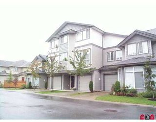 """Photo 1: 52 7250 144TH Street in Surrey: East Newton Townhouse for sale in """"CHIMNEY RIDGE"""" : MLS®# F2803235"""