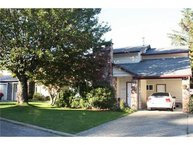 """Main Photo: 1258 BRIAN Drive in Coquitlam: River Springs House for sale in """"RIVER SPRINGS"""" : MLS®# V853034"""