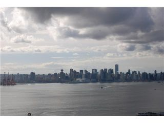 """Photo 1: # 2403 120 W 2ND ST in North Vancouver: Lower Lonsdale Condo for sale in """"OBSERVATORY"""" : MLS®# V857068"""