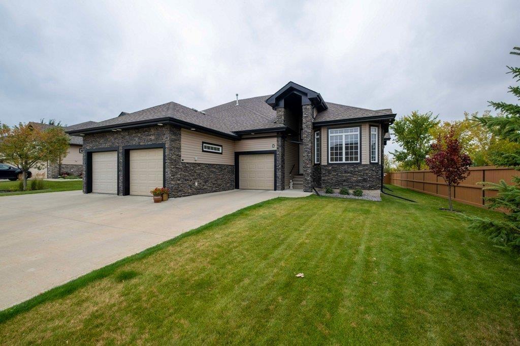 Main Photo: 1 85 NORTH RIDGE Drive: St. Albert House Half Duplex for sale : MLS®# E4226226