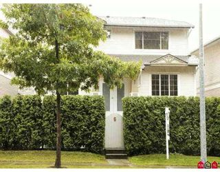 """Photo 1: 6 8675 209TH ST in Langley: Walnut Grove House for sale in """"THE SYCAMORES"""" : MLS®# F2620605"""