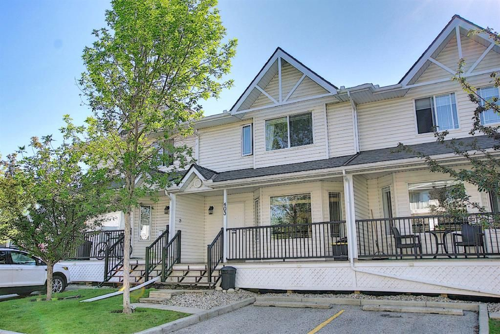 Main Photo: 403 950 Arbour Lake Road NW in Calgary: Arbour Lake Row/Townhouse for sale : MLS®# A1140525