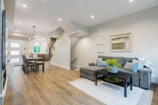 """Photo 1: 2412 DUNDAS Street in Vancouver: Hastings Sunrise Townhouse for sale in """"Nanaimo West"""" (Vancouver East)  : MLS®# R2620115"""