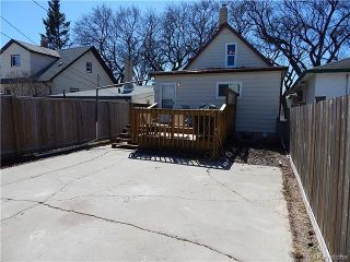 Photo 18: 815 Boyd Avenue in Winnipeg: North End Residential for sale (North West Winnipeg)  : MLS®# 1609014
