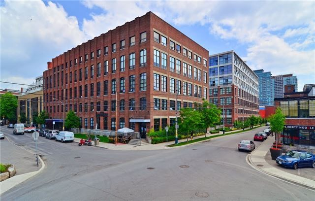 Main Photo: 501 43 Hanna Avenue in Toronto: Niagara Condo for lease (Toronto C01)  : MLS®# C3498691