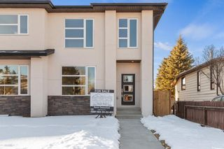 Main Photo: 4647 84 Street NW in Calgary: Bowness Semi Detached for sale : MLS®# A1061253