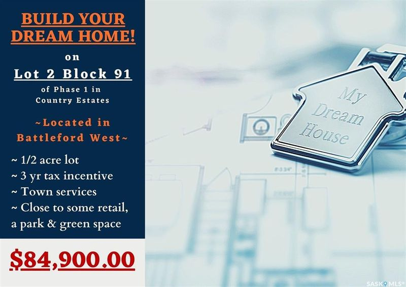 FEATURED LISTING: Lot 2 Blk 91 Country Estates Way Battleford