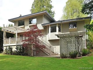 Photo 2: NORTH SAANICH REAL ESTATE = DEAN PARK HOME For Sale SOLD With Ann Watley