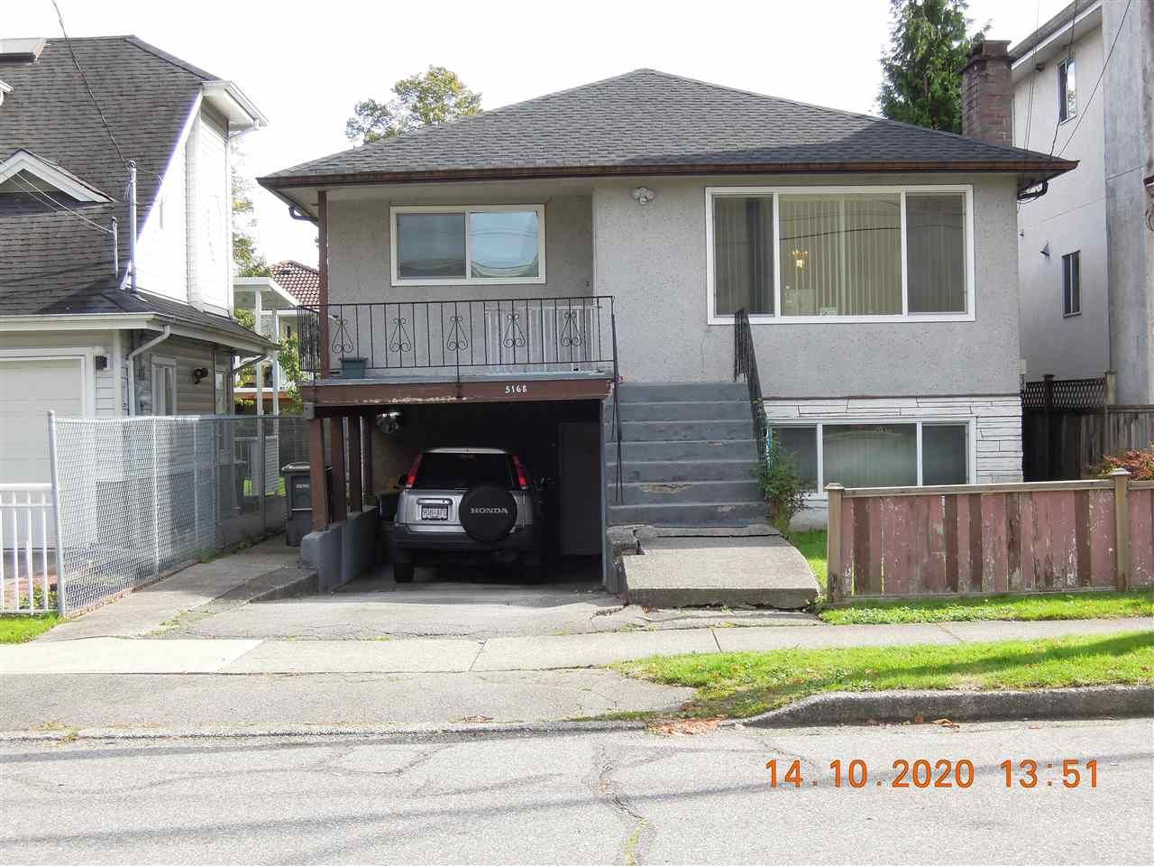 Main Photo: 5168 MOSS STREET in Vancouver: Collingwood VE House for sale (Vancouver East)  : MLS®# R2508875
