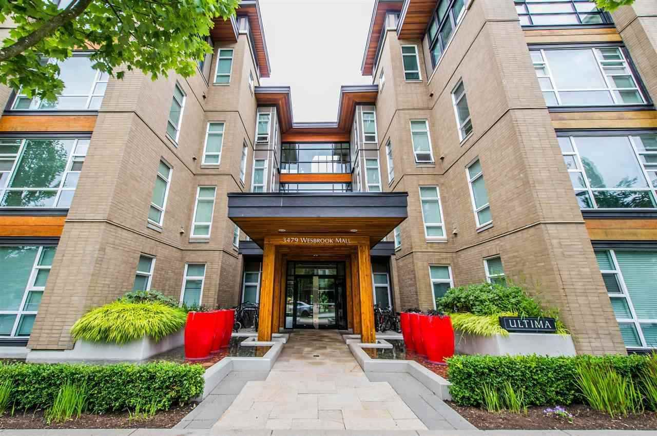 """Main Photo: 216 3479 WESBROOK Mall in Vancouver: University VW Condo for sale in """"ULTIMA"""" (Vancouver West)  : MLS®# R2563724"""