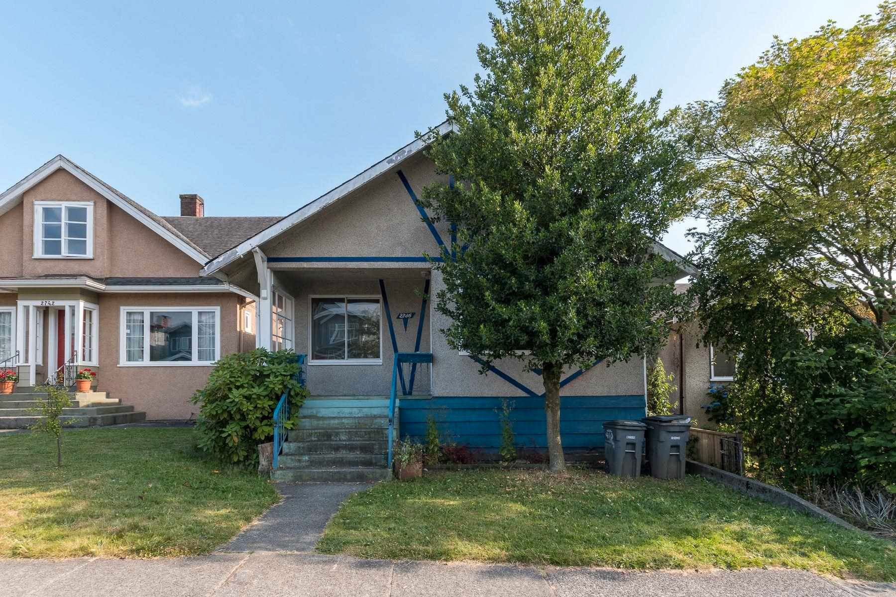 Main Photo: 2736 E GEORGIA Street in Vancouver: Renfrew VE House for sale (Vancouver East)  : MLS®# R2599667