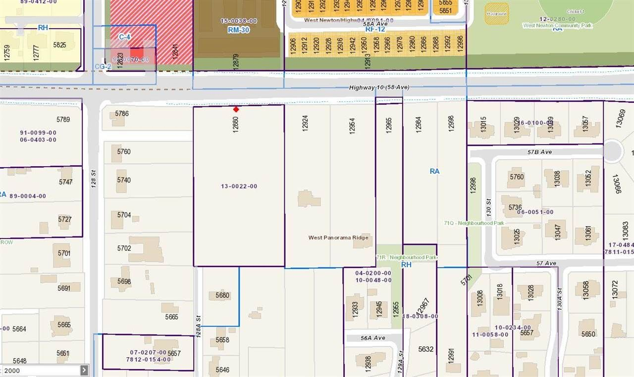 "Main Photo: 12880 58 Avenue in Surrey: Panorama Ridge Land for sale in ""PANORAMA RIDGE"" : MLS®# R2580387"