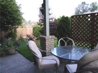 """Photo 9: 43 1255 RIVERSIDE Drive in Port Coquitlam: Riverwood Townhouse for sale in """"RIVERWOOD GREEN"""" : MLS®# V901232"""