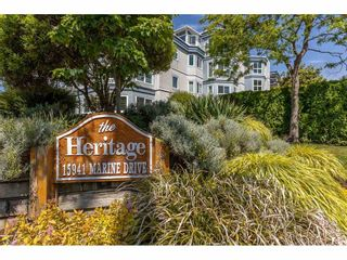 """Photo 29: 101 15941 MARINE Drive: White Rock Condo for sale in """"The Heritage"""" (South Surrey White Rock)  : MLS®# R2591259"""