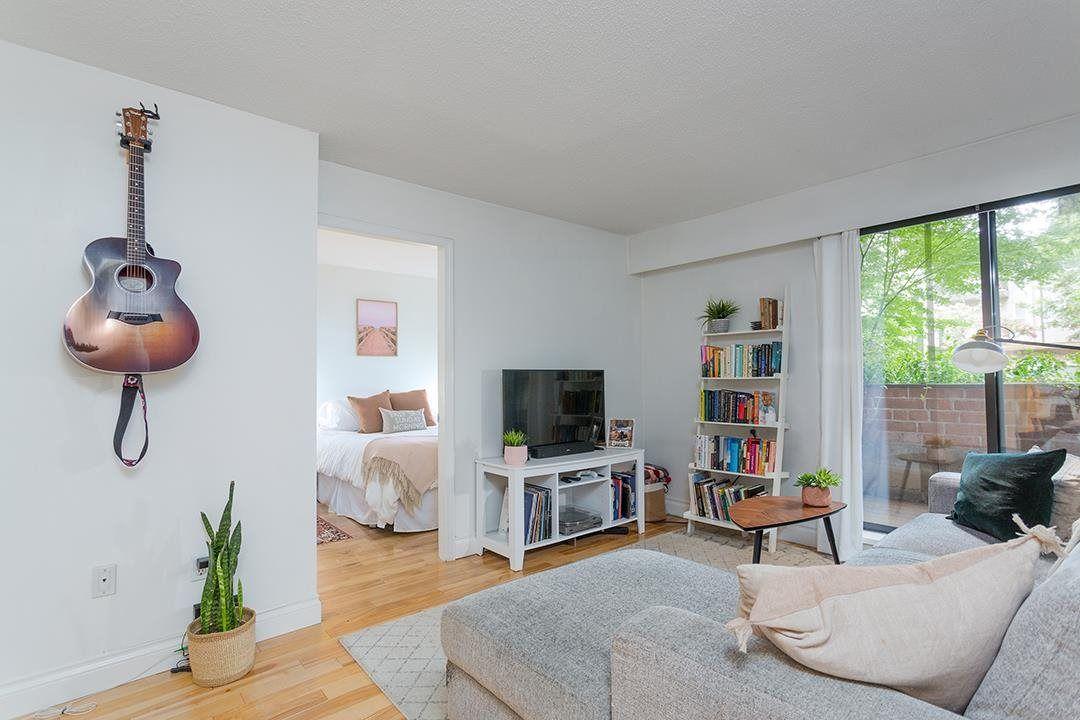 """Main Photo: 107 2255 W 5TH Avenue in Vancouver: Kitsilano Condo for sale in """"Villa Florita"""" (Vancouver West)  : MLS®# R2591365"""