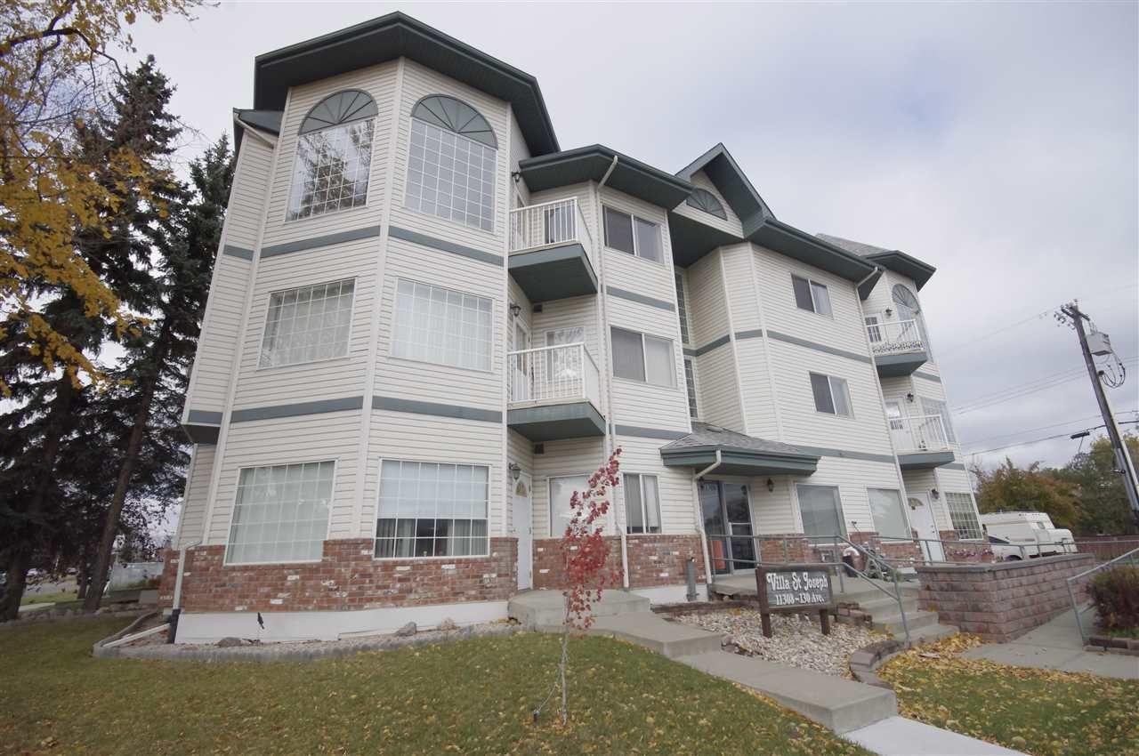 Main Photo: 105 11308 130 Avenue in Edmonton: Zone 01 Condo for sale : MLS®# E4172960